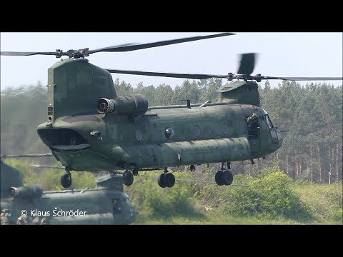 Green Griffin 2019-  CH 47 Chinook