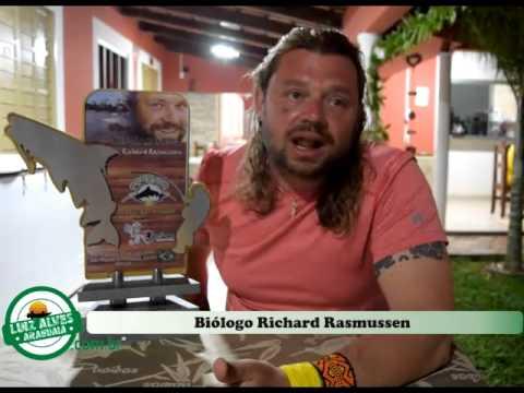 Richard Rasmussen convida a todos para conhecer as belezas do Rio Araguaia no Porto de Luiz Alves