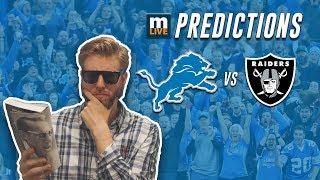 Detroit Lions vs. Oakland Raiders final score predictions