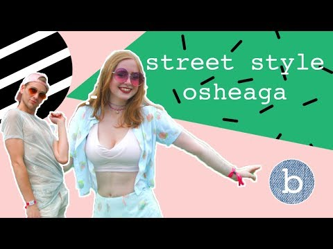 Vox pop: Street style Osheaga
