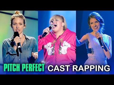 Pitch Perfect Cast Rapping (Anna Kendrick & Rebel Wilson)