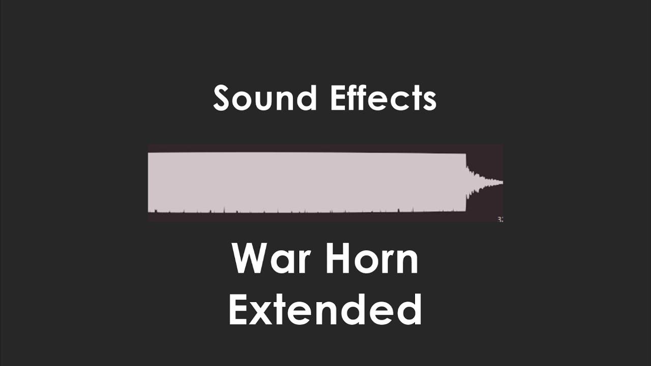 War Horn Sound Effect 7