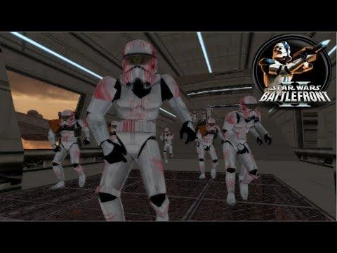 Star Wars Battlefront II Mod HvB2 Zombie Mode: Bespin: Platforms