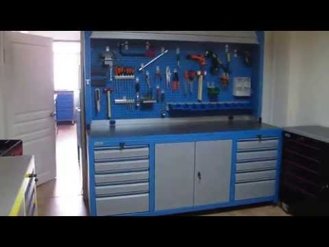 Industrial Workbenches & Toolboxes Plastmer(Turkey)