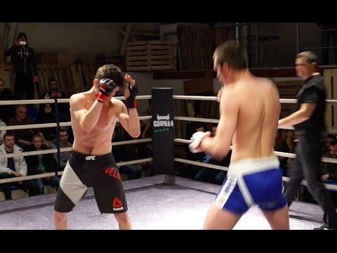 Боец в UFC против Уличного бойца
