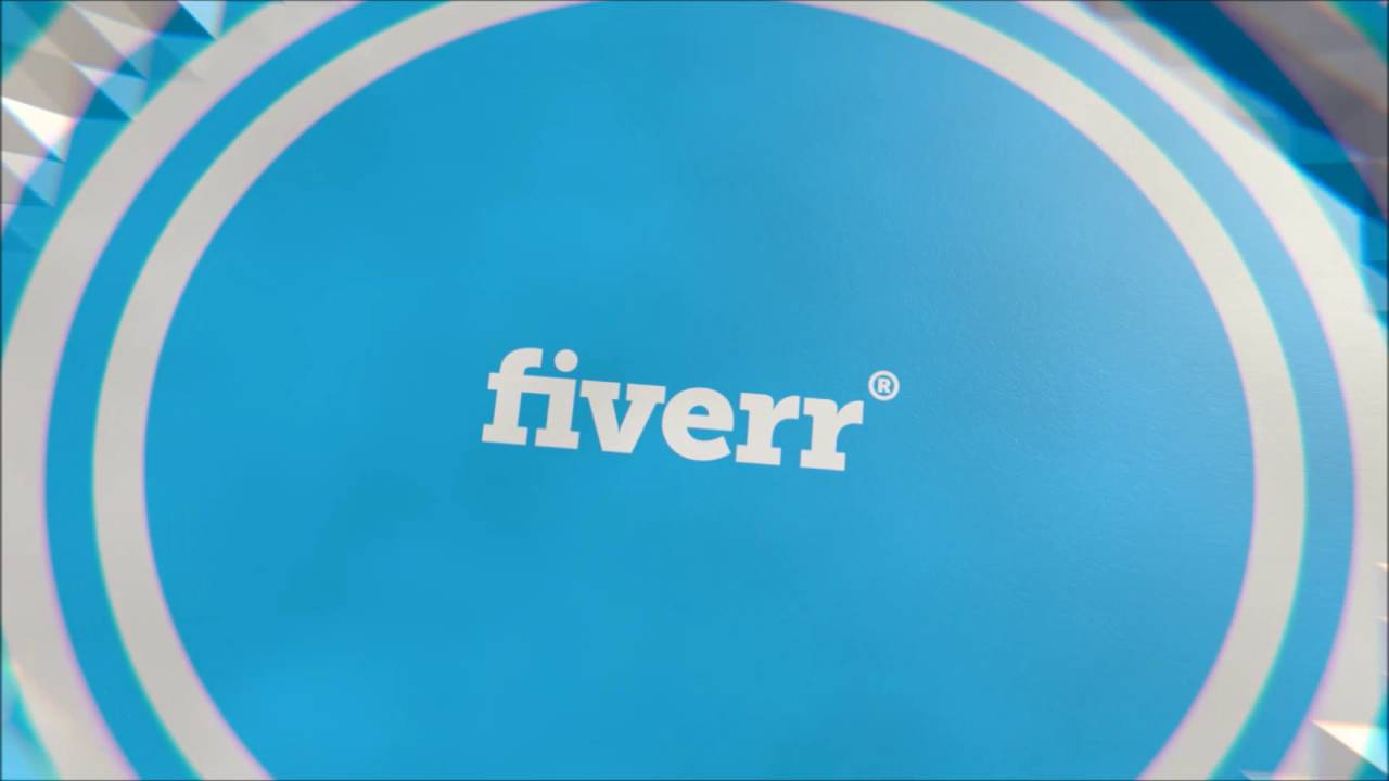 77. Polygon Ripple Fiverr Logo Animation