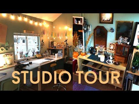 ART STUDIO TOUR 2017 // JACQUELIN DELEON