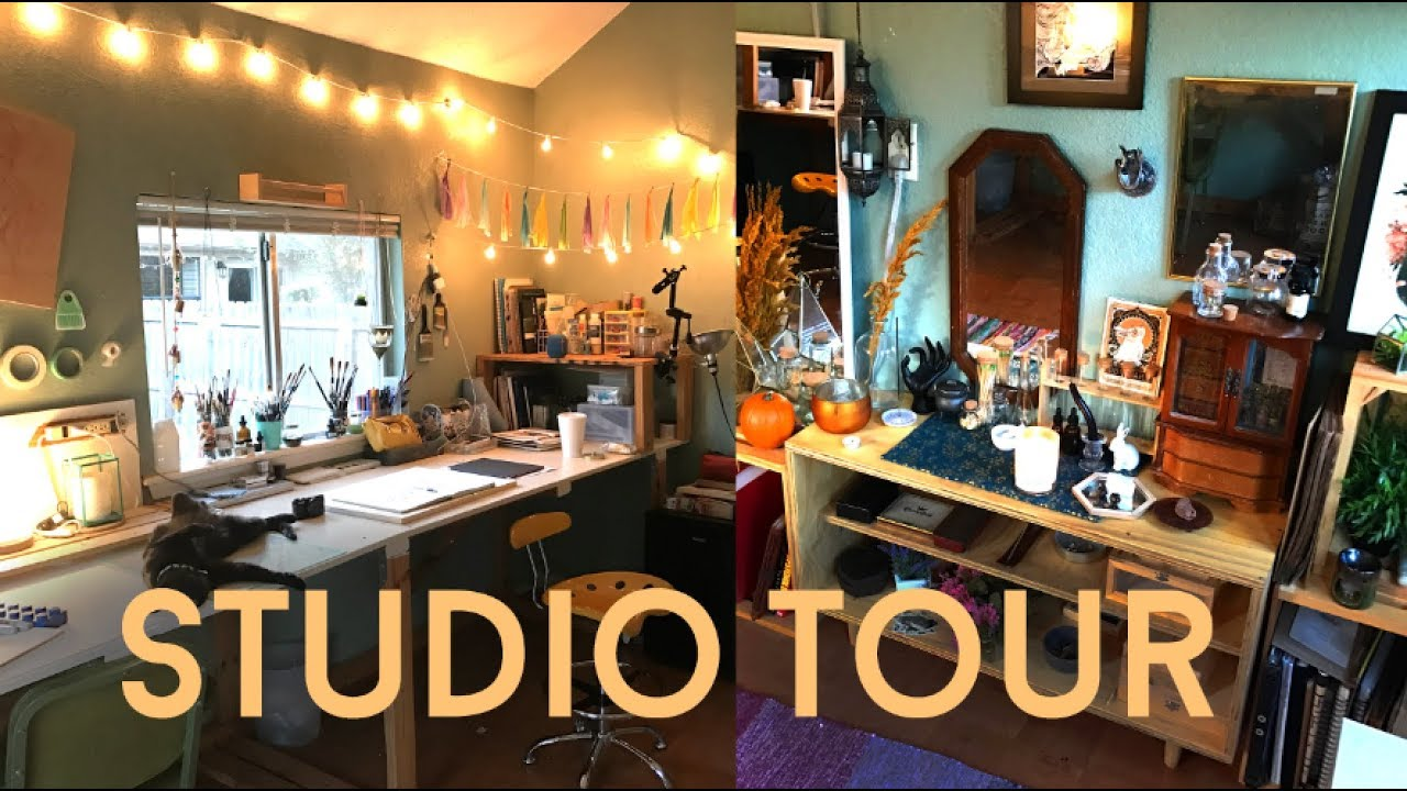 ART STUDIO TOUR 2017  JACQUELIN DELEON  YouTube