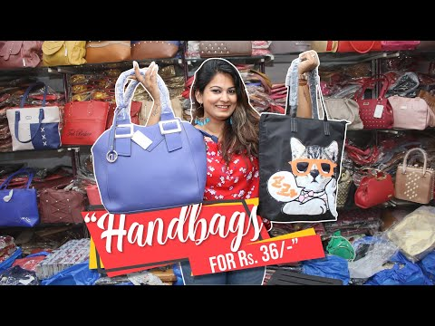 Delhi Shopping | Wholesale Bags Market | Nabi Karim Market in Delhi | DesiGirl Traveller