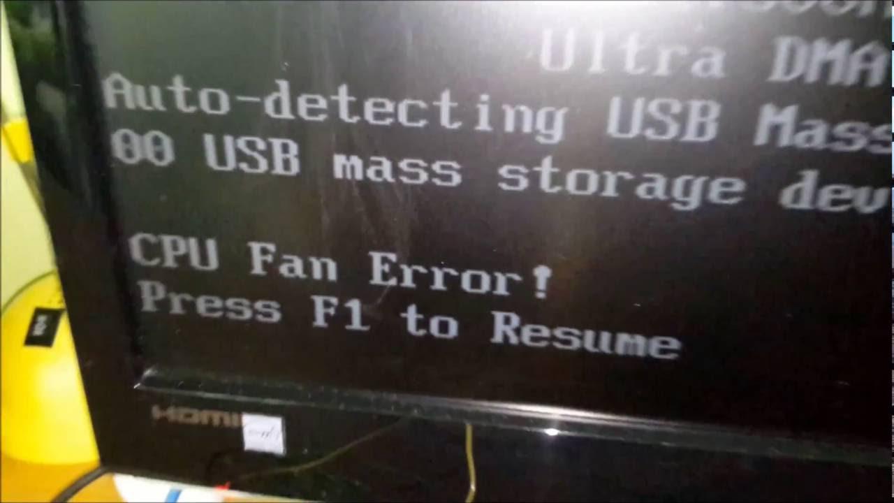resume Cpu Fan Error Press F1 To Resume fixing m4a78t e cpu fan error with a ne555 youtube