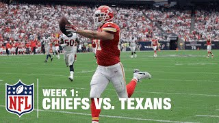 Kansas City Chiefs Alex Smith to Travis Kelce for 42-Yard Touchdown | Chiefs vs. Texans | NFL