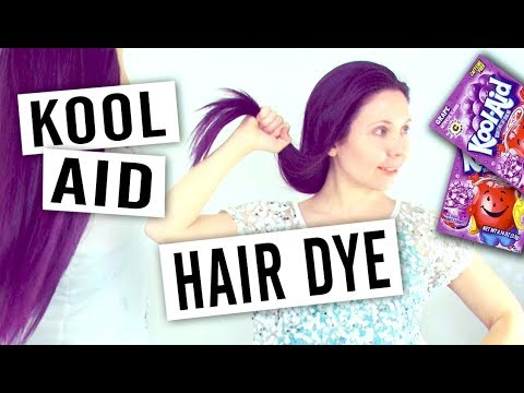 How to Dye Your Hair With Kool Aid – or Using Ion Color Brilliance
