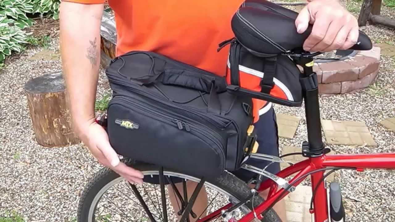 topeak bike rack system