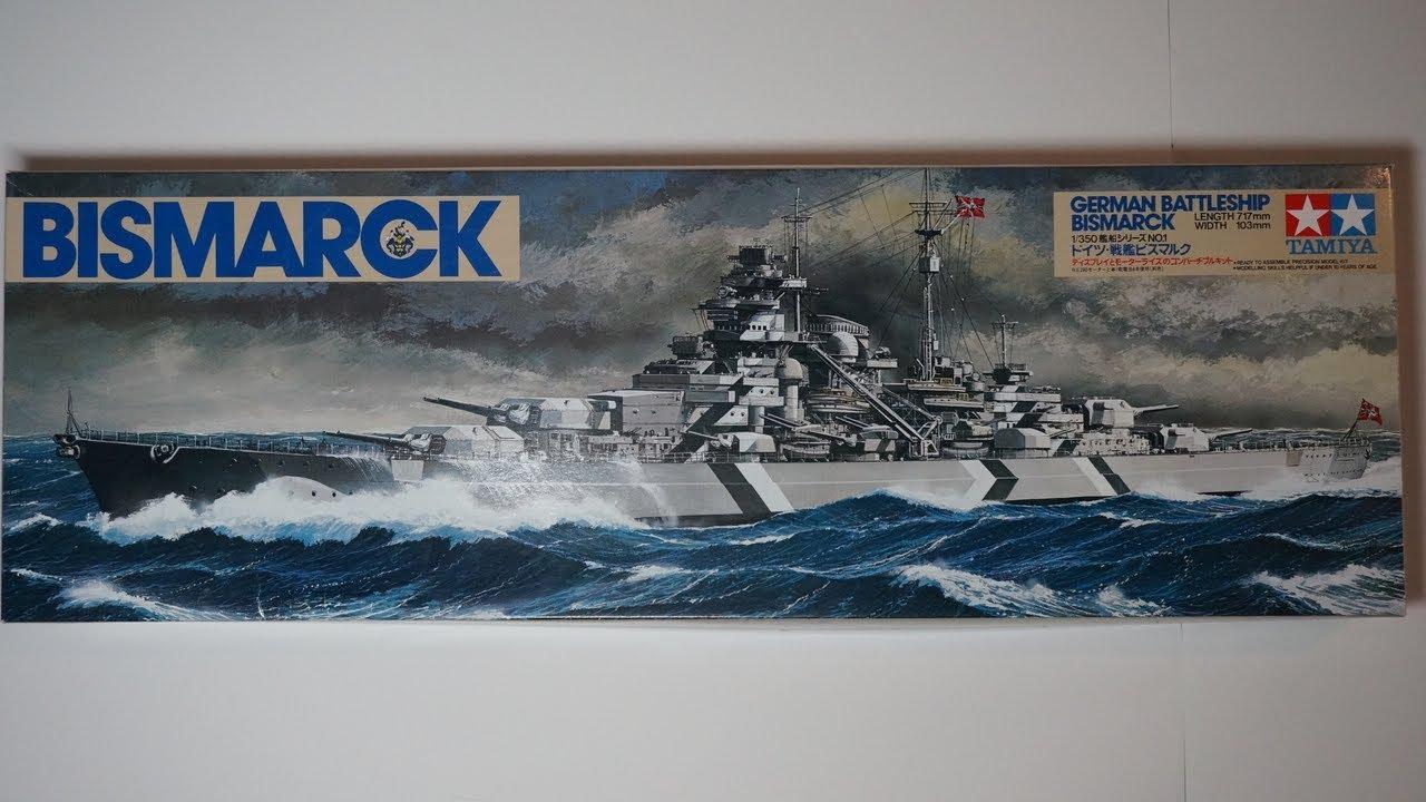 Tamiya 1//350 Ship Series No.13 German Navy battleship Bismarck plastic mode F//S