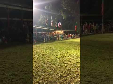Shawnee Dance at Meskwaki Powwow