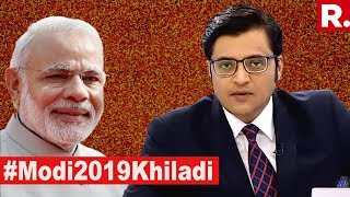 PM Narendra Modi The Only 'Khiladi' For 2019? | The Debate With Arnab Goswami