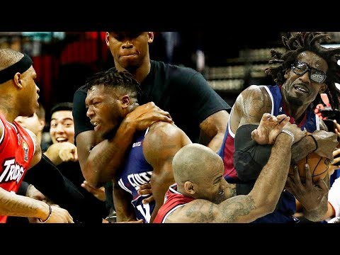 BIG3 Basketball – Fights, Brawls, Dirty Plays (2017-2019)