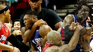 BIG3 Basketball - Fights, Brawls, Dirty Plays (2017-2019)