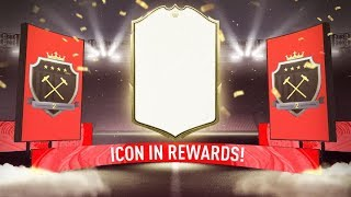 ICON IN A PACK! ELITE 2 FUT CHAMPIONS REWARDS! #FIFA20 ULTIMATE TEAM