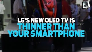 lg g6 oled 4k tv a tv thinner than your smartphone   big shiny things