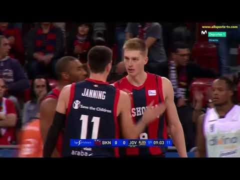 ACB J8/ BASKONIA vs JOVENTUT (1) ALLSPORTS