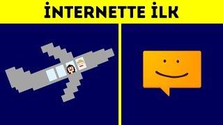 İnternette Paylaşılan 12 İlk Şey