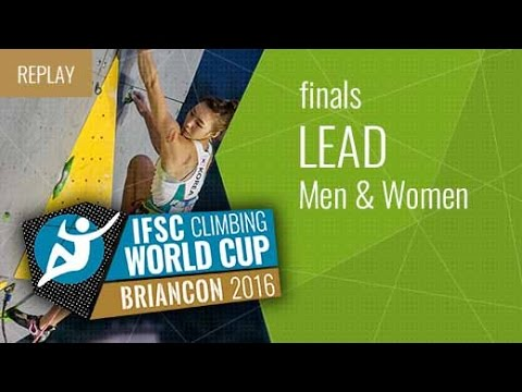IFSC Climbing World Cup Briançon 2016 - Lead - Finals - Men/Women