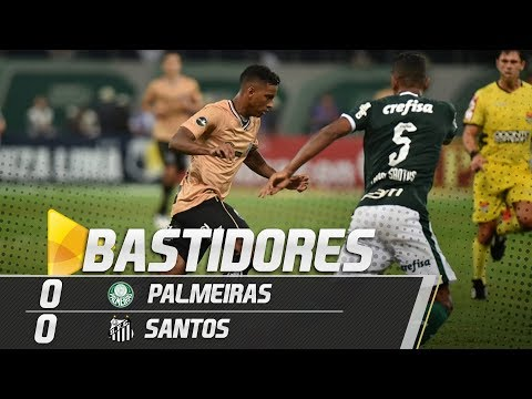 Palmeiras 0 x 0 Santos | BASTIDORES | Paulistão (23/02/19)