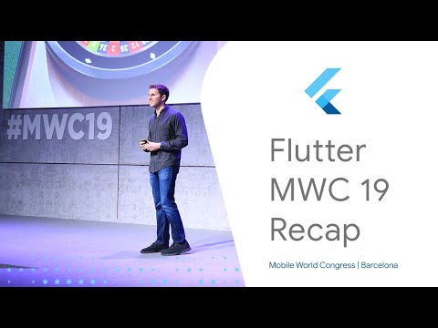 Highlights from Flutter at Mobile World Congress 2019