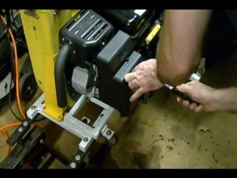 Small Engine Repair Preparing A Cyclone Rake For The Fall Leaf Pickup Season