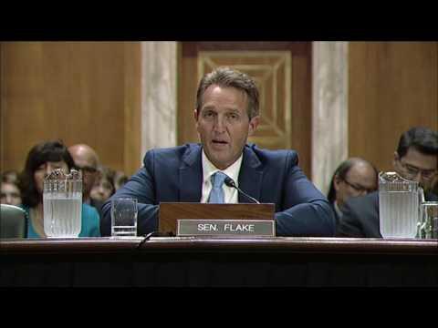 Sen. Flake Testifies in Support of Bills Revising Burdensome Ozone Regulations