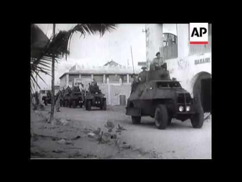 Springboks Capture Italian Somaliland