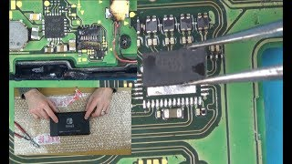 Trying to FIX a Nintendo Switch with Numerous Faults