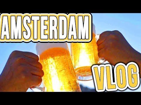 Teaching Dutch People COCKNEY SLANG! Amsterdam Vlog #2