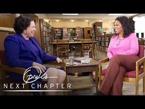 An Exciting Moment in Justice Sonia Sotomayor's Life | Oprah's Next Chapter | Oprah Winfrey Network