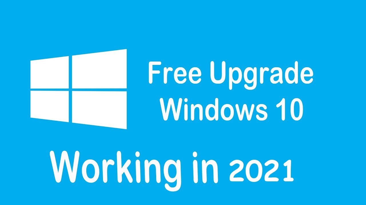 upgrade 8.1 to 10 for free