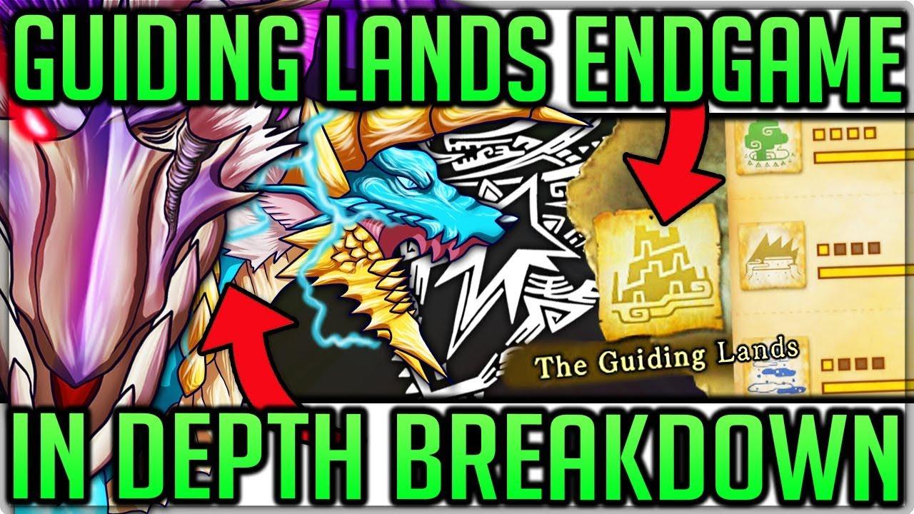 Guiding Lands Explained - New Endgame Map - Unlock 6 New Monsters - Monster  Hunter World Iceborne!