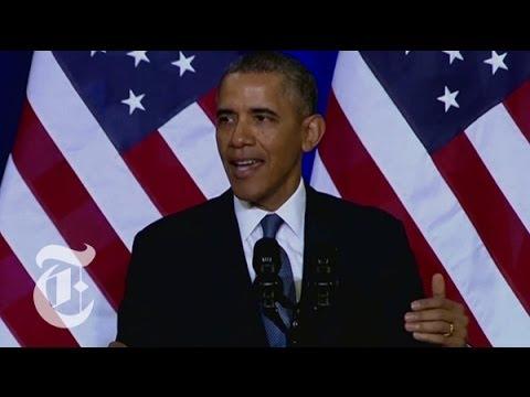 Obama Speech: President on Phone Data Collection Program ...