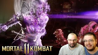 Official Sindel Gameplay Trailer Reaction - Mortal Kombat 11