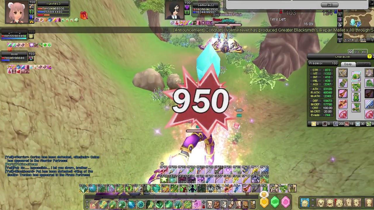 Grand Fantasia EN 91-100 WSB [Yukine«3]
