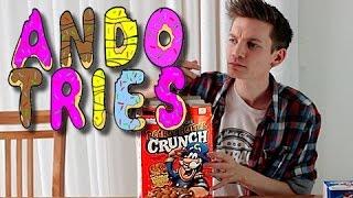 Ando Tries: Twinkies & Peanut Butter Cap