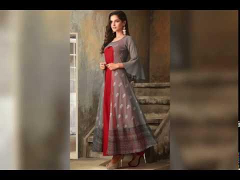 Designer kurti style of India