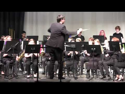 Rolesville Middle School 8th Grade Concert Band performs Pinnacle on 3/19/2019