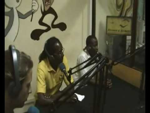Football Gambia UK Charity - Interview on West Coast Radio in the Gambia West Africa May 2010