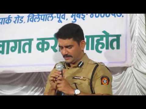 I.P.S.Vishwas Nangare Patil Sir Speech
