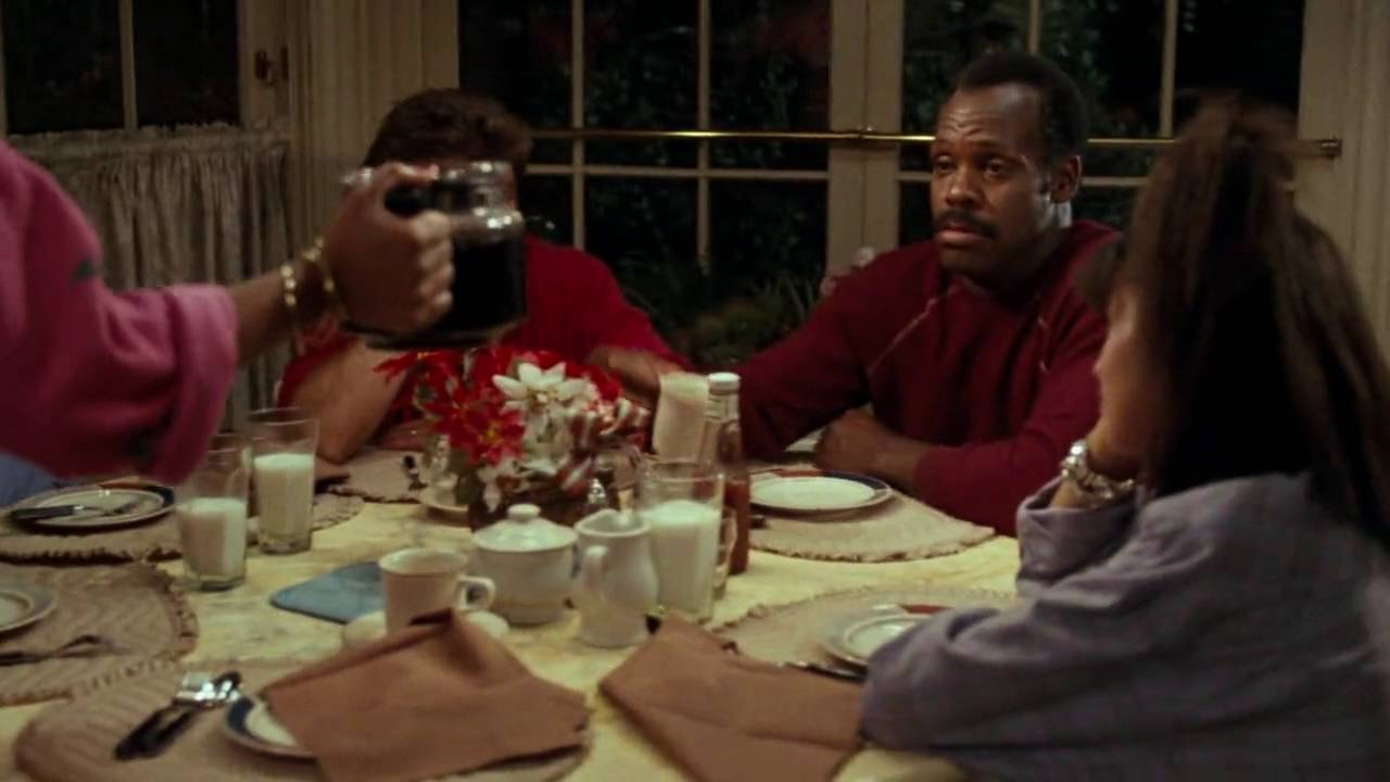lethal weapon 1987 dinner best part 1 - Lethal Weapon Christmas