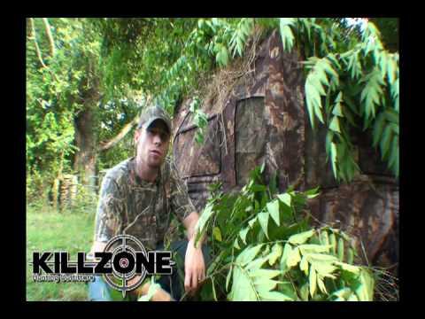 KillZone Turret XL Hub Style Hunting Blind Setup Instruction Video