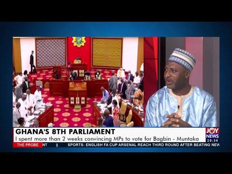 Ghana's 8th Parliament: The Chaos, Consensus, New direction with Hon. Muntaka - JoyNews (11-1-21)