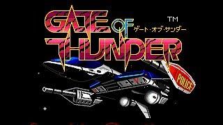 Gate of Thunder - TurboGrafx-CD/PC-Engine CD - Full Playthrough