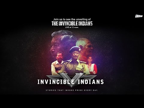 Bajaj V presents Invincible Indians